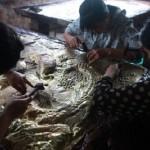 Làng nghề chạm khắc bạc truyền thống  của mảnh đất Đồng Xâm