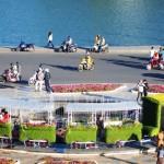 Đoàn tàu hoa tại lễ hội hoa Đà Lạt