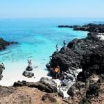 Phong cảnh thơ mộng trên đảo Lý Sơn