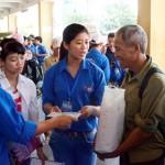 Thanh niên tình nguyện Hà Nội